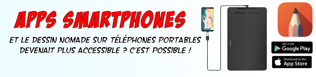Les applications smartphones/tablettes